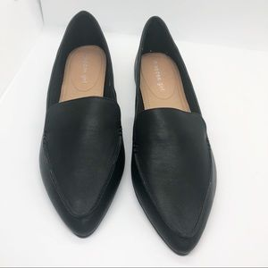 NEW Madden Girl black faux leather flats